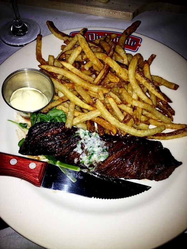 Steak Frites at Le Diplomate
