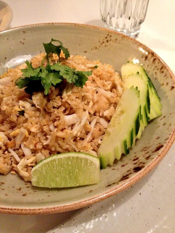Blue Crab Fried Rice at Doi Moi