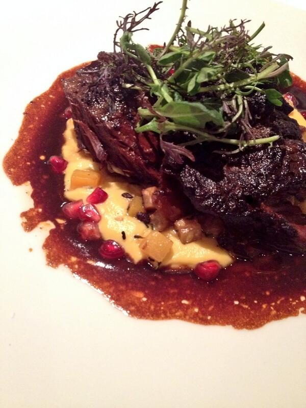 Short Rib at Brabo Restaurant