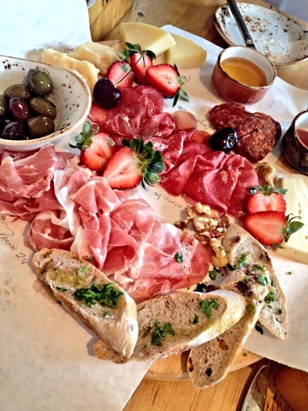 Cheese and charcuterie at Lupo Verde.jpg