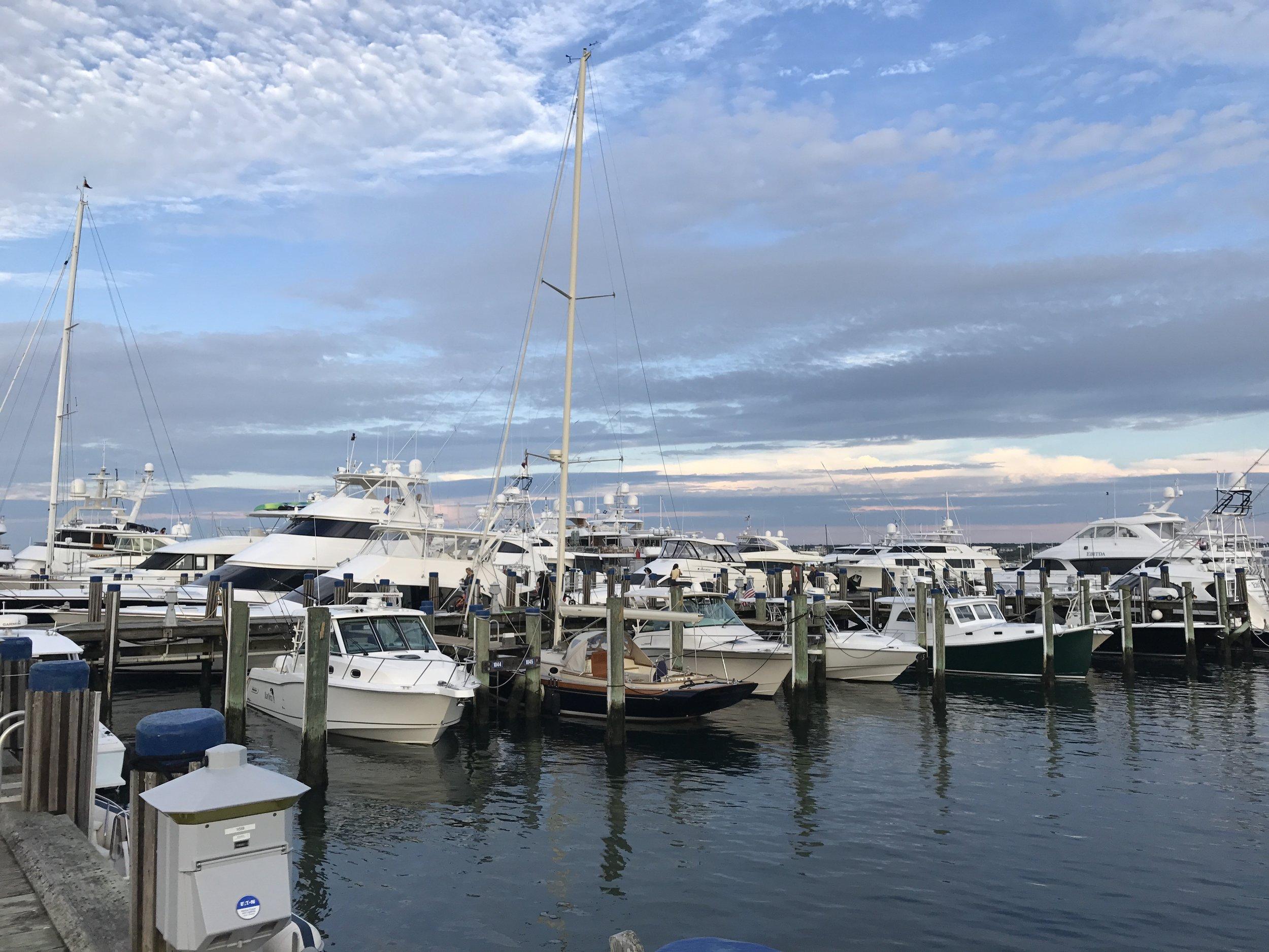 Nantucket Harbor and Yachts.jpg