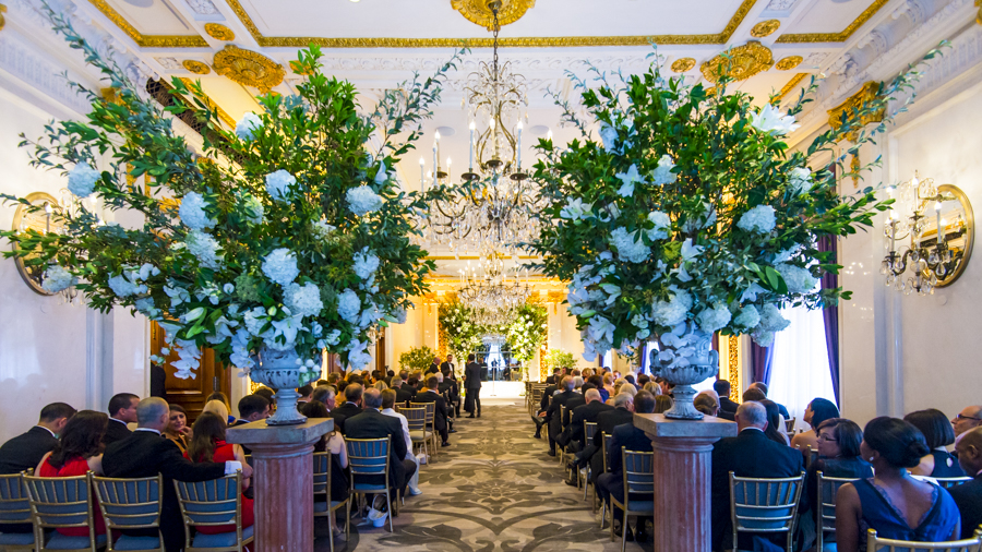 St. Regis Hotel, NYC     * photo credit Unveiled Weddings