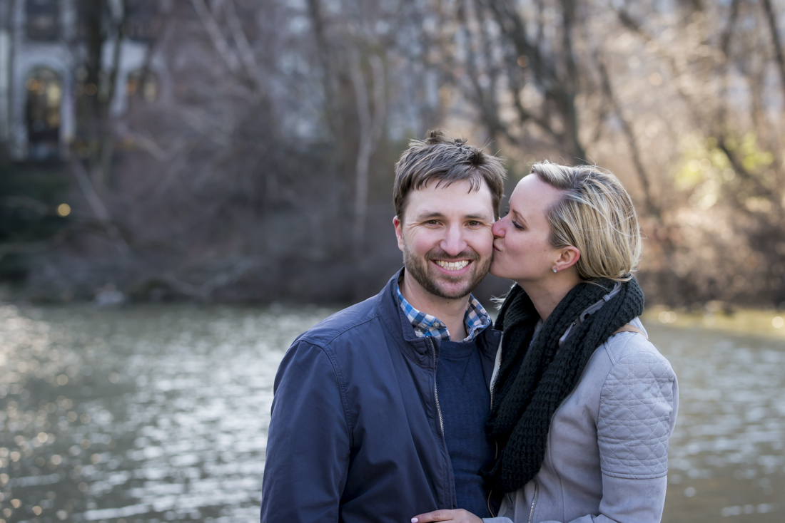 Errol propose marrige to Danielle in NY by Alberto Lama Photography
