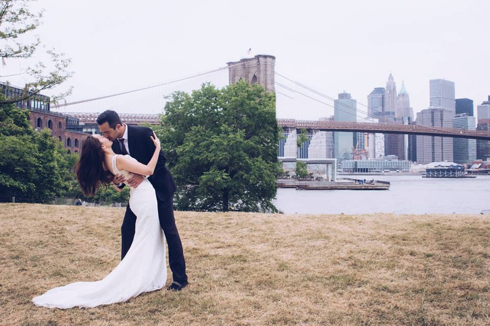 Trash the Dress Shoot in DUMBO, Brooklynby Alberto Lama for Unveiled Wedding Photography