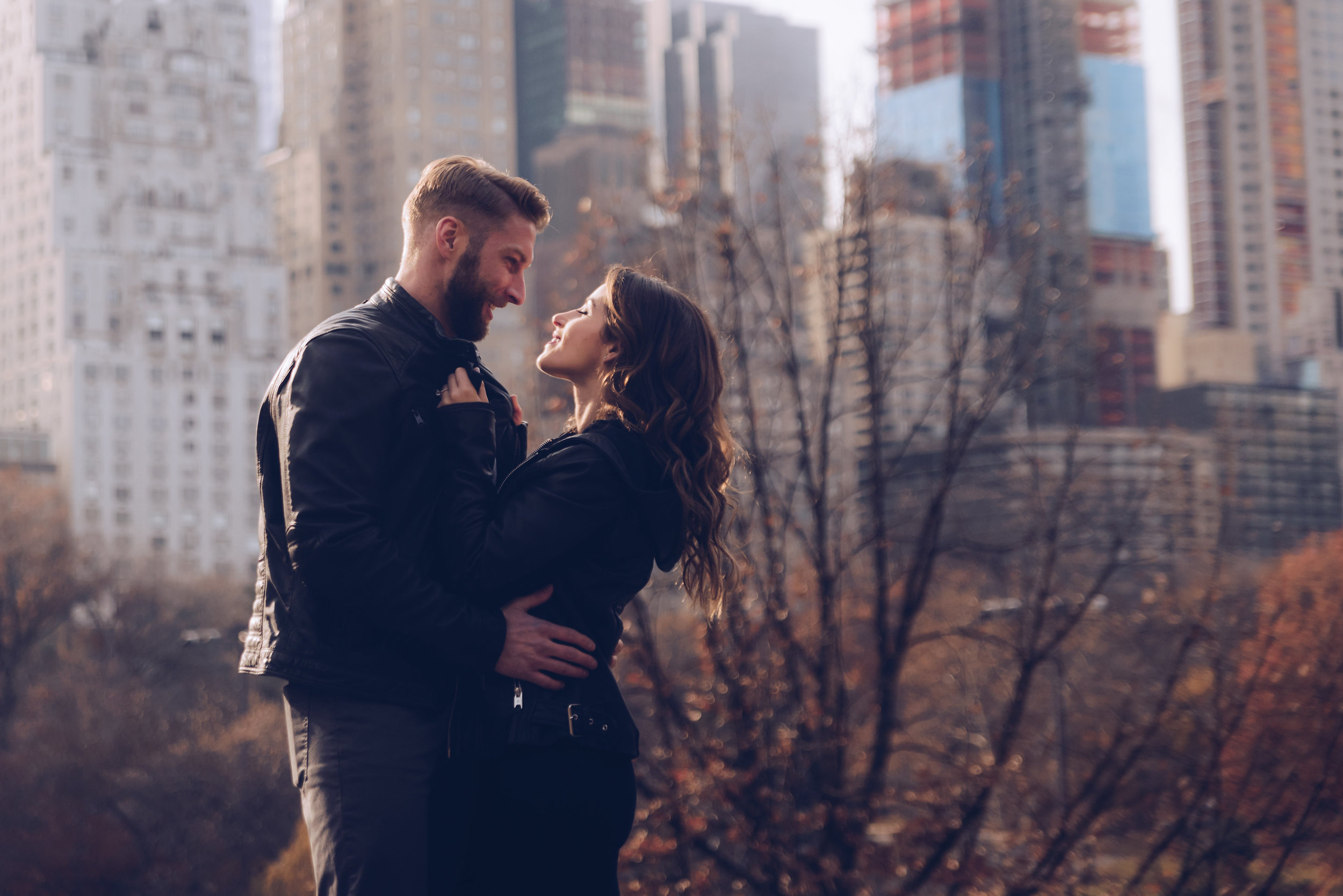Samantha & Michael engagement session in Central Park, NYC by Unveiled-Weddings.com