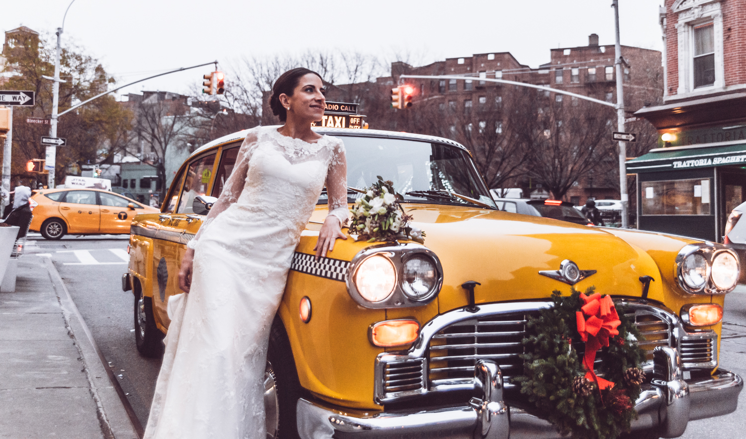 Transportation: New York Checker    *photo credit Unveiled Weddings