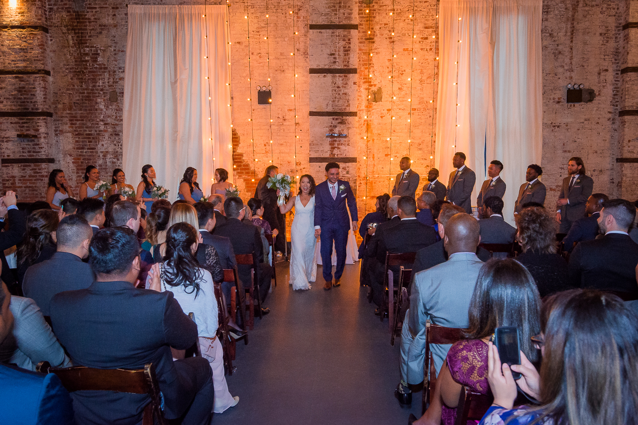 Jennifer & Jonathan wedding at The Green Building by Unveiled-Weddings.com