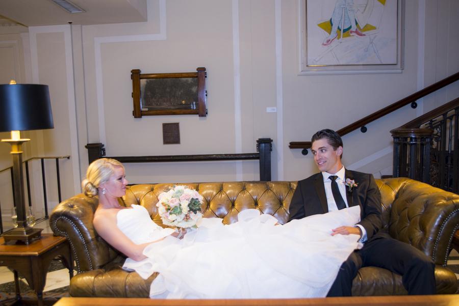 Wedding at the Yale Club
