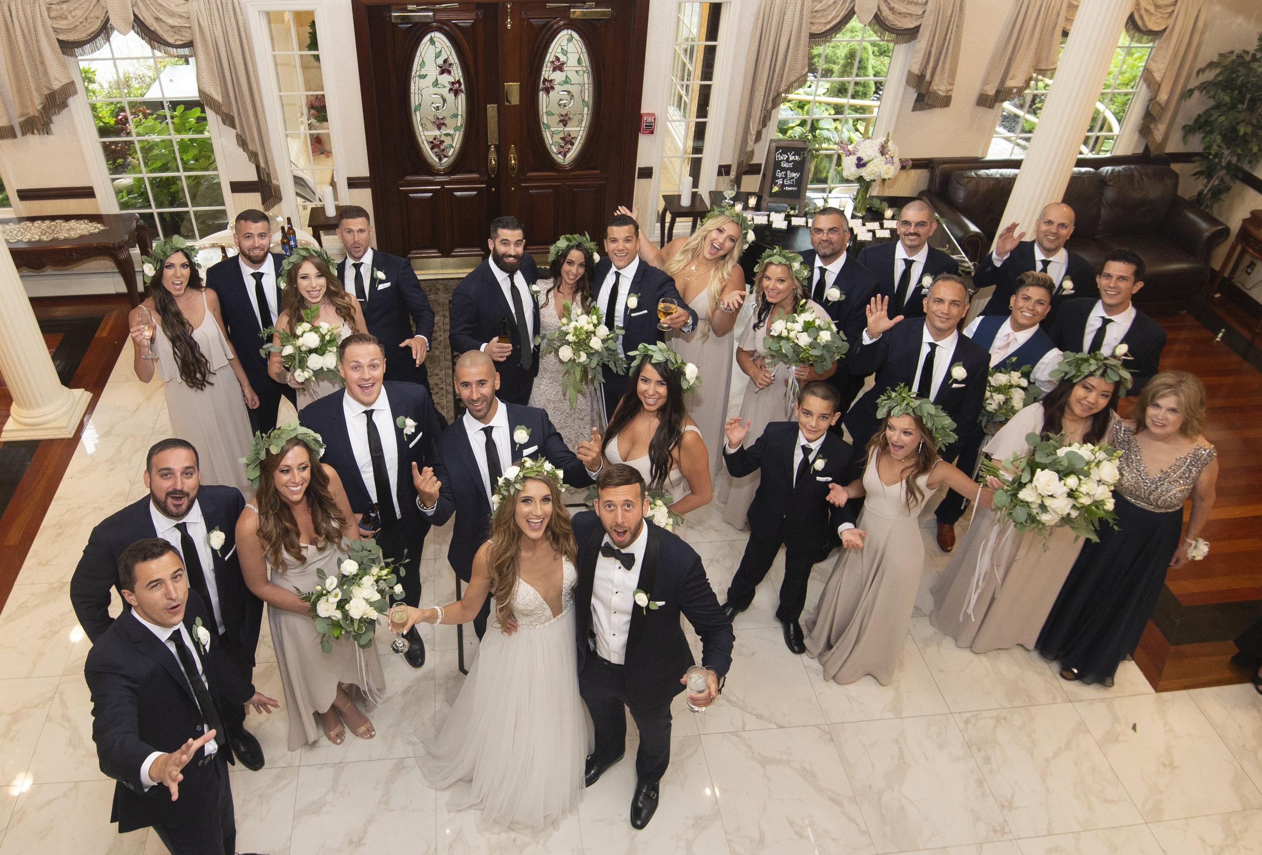 Sheri & Keith wedding at Giorgios, NY by Unveiled-Weddings.com