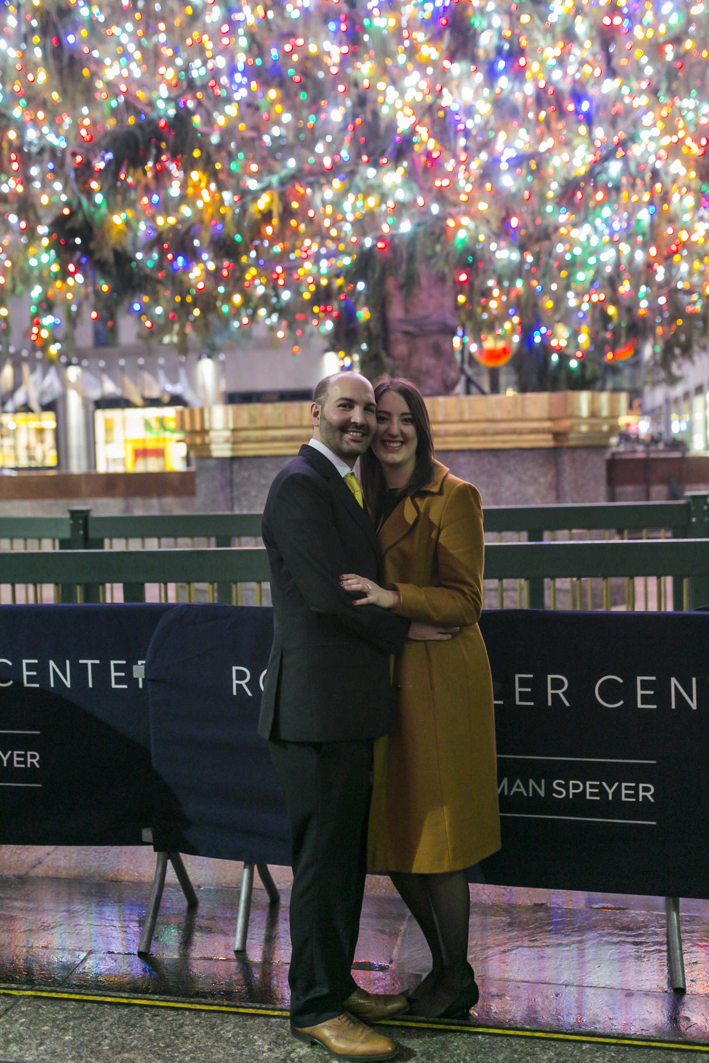 Ben proposal at The Rainbow Room in New York City by Unveiled-Weddings.com