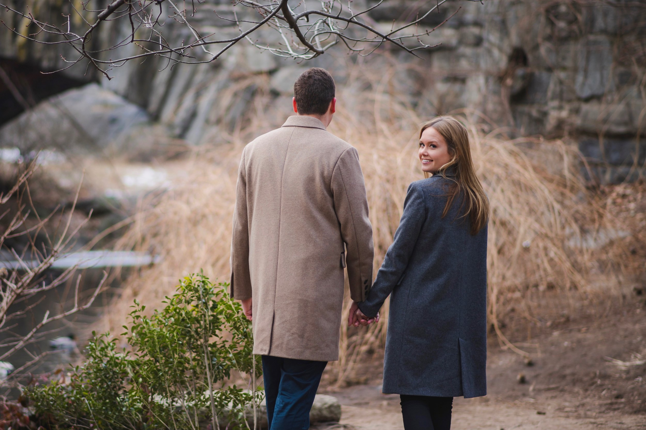 Shannon & Matt Engagement session in Central Park by Unveiled-Weddings.com