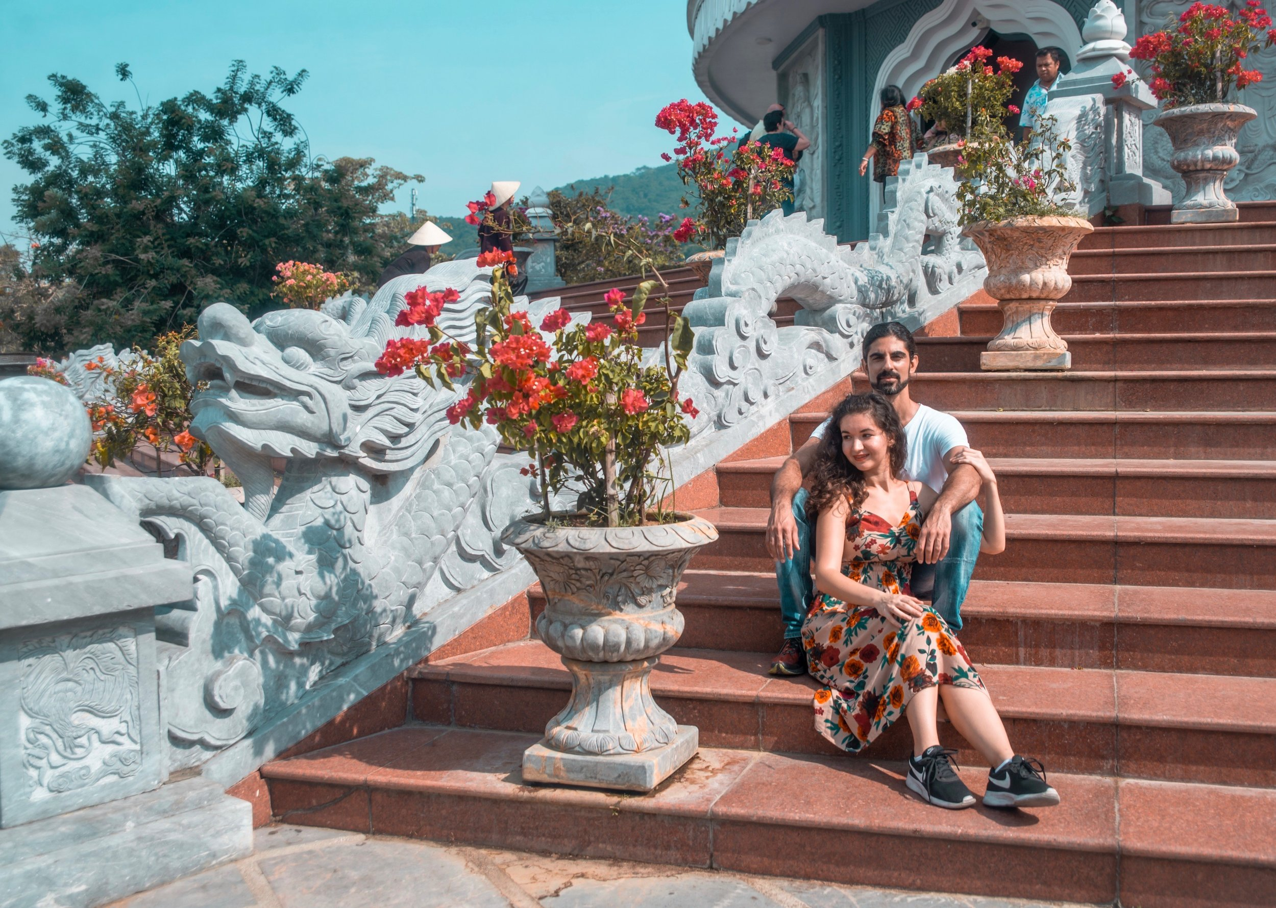 Lera & Daniel - Destination Engagement Session in Da Nang, Vietnam - Photography by Alberto Lama for Unveiled Weddings