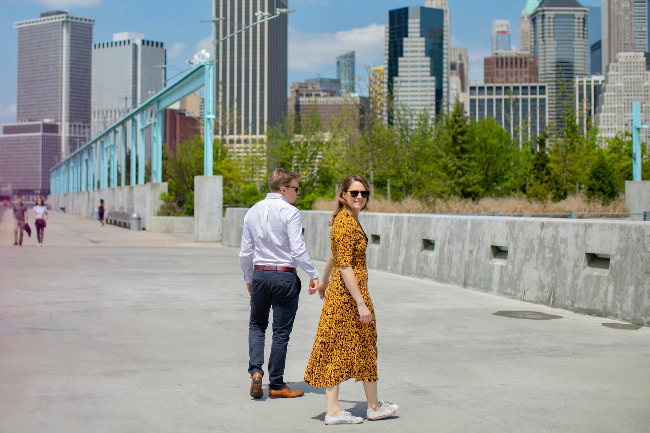 Tess & Rich engagement session in New York by www.Unveiled-Weddings.com