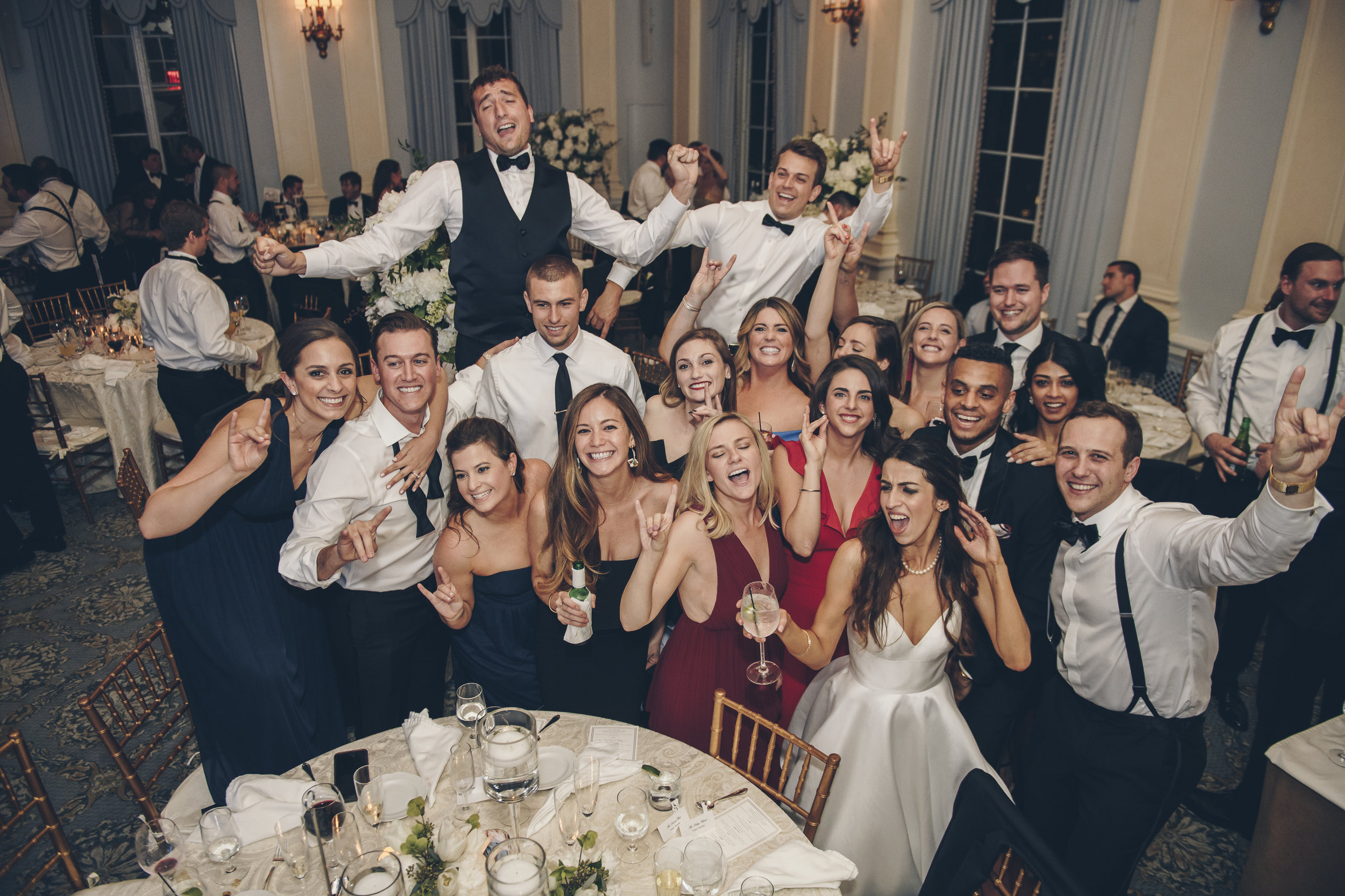 Courtney & Nick wedding at The Yale Club by Unveiled-Weddings.com