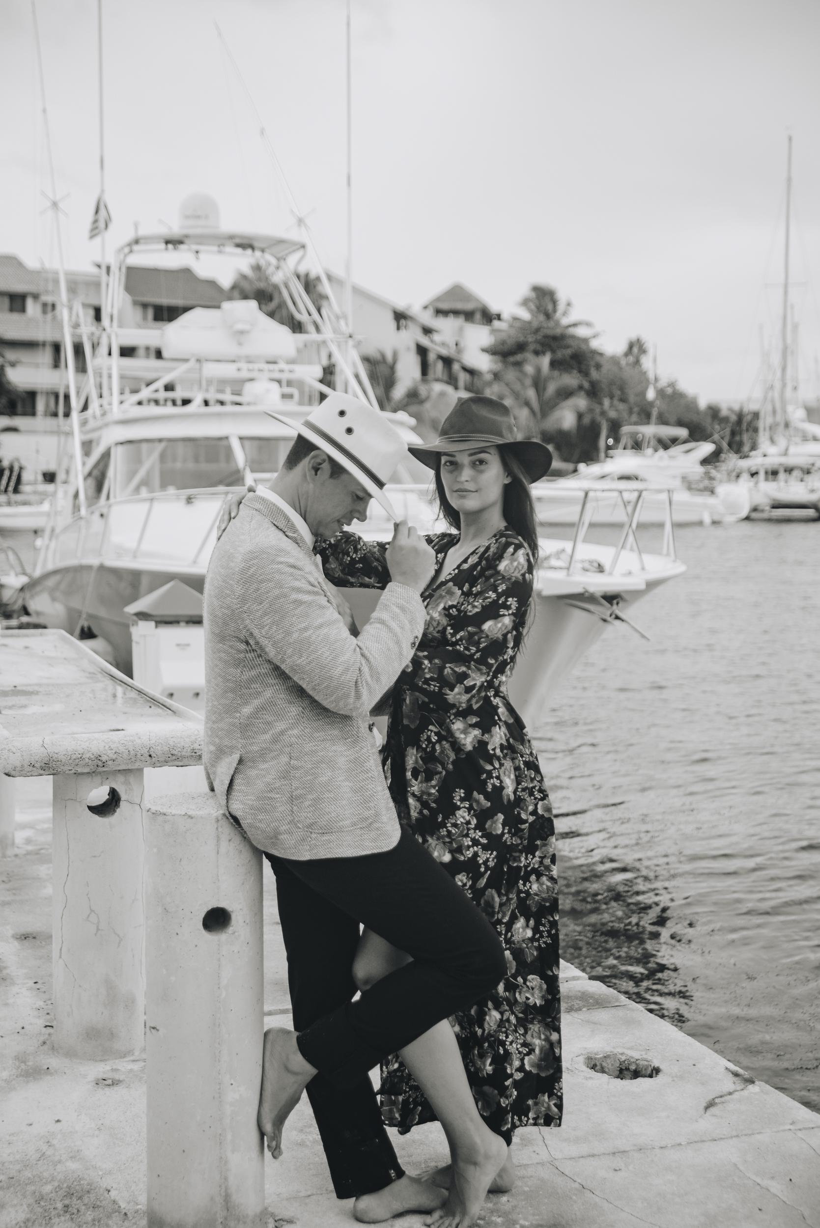 Luna & Luis: Destination Engagement Session in Puerto Aventuras, Riviera Maya, Mexico by Unveiled-Weddings.com