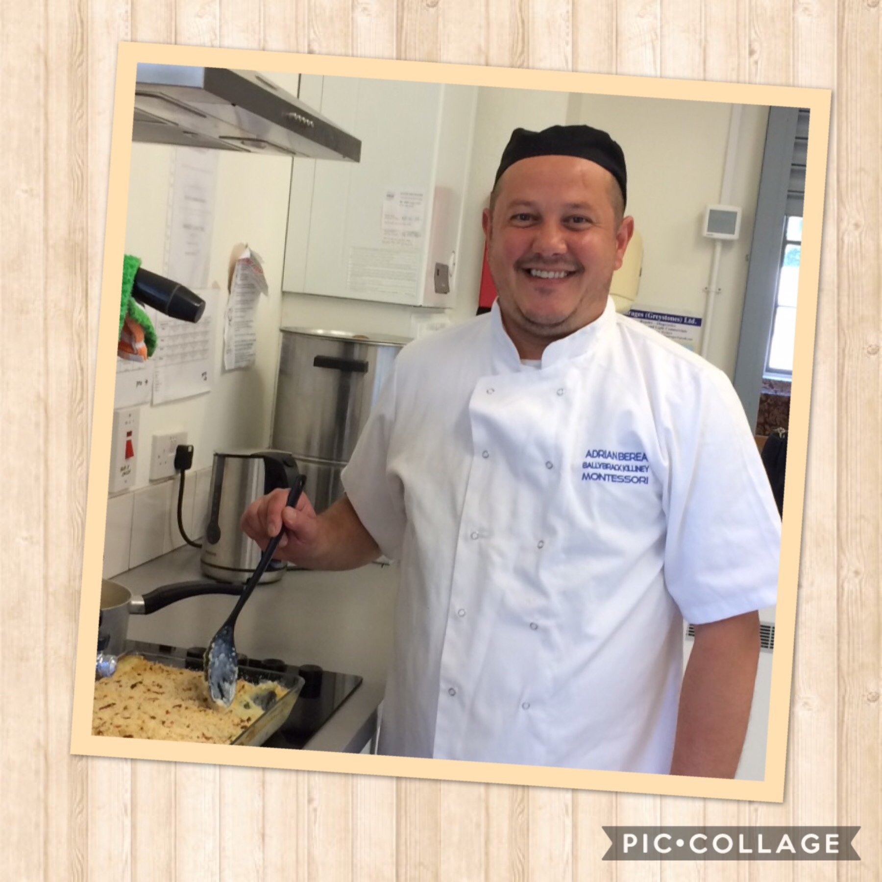 Adrian Berea - Chef - Adrian is our resident Chef cooking up delicious, nutritious fresh meals for the children each day. Check out our full menus and Breakfast and Lunch Club price list.