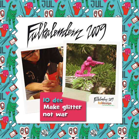 Make glitter not war!