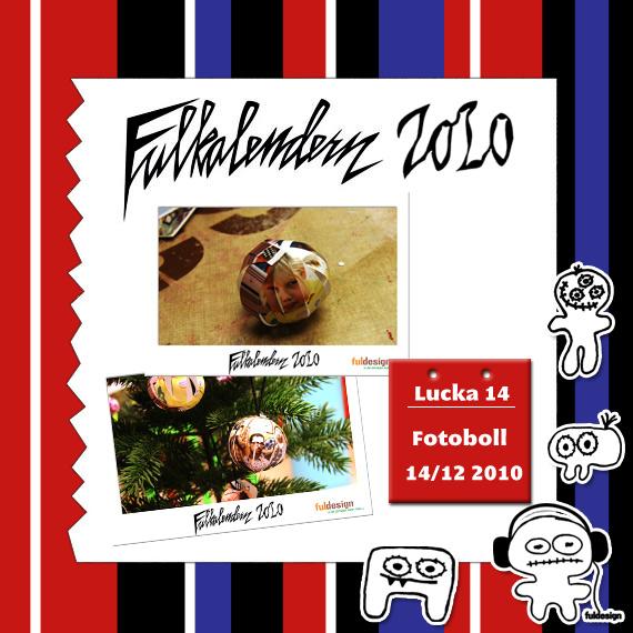 Lucka 14 Fotoboll