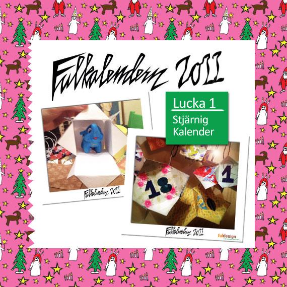 Lucka 1 Stjärnig Paketkalender