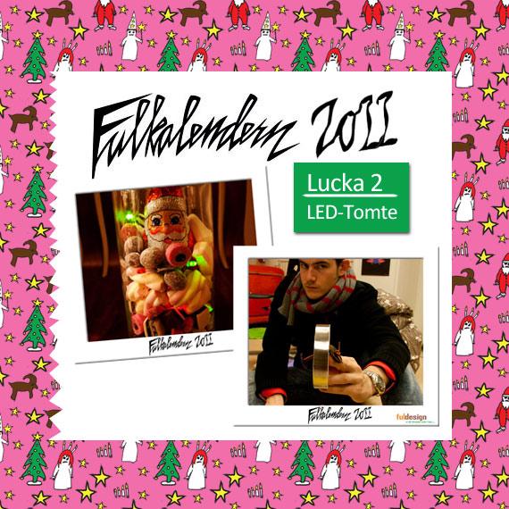 Lucka 6 The lights L.E.D. me back to godisburken