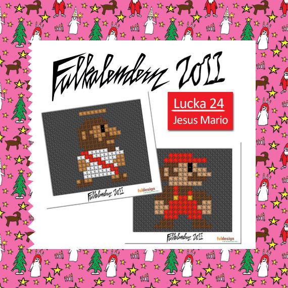 Lucka 24 Mario och Jesus