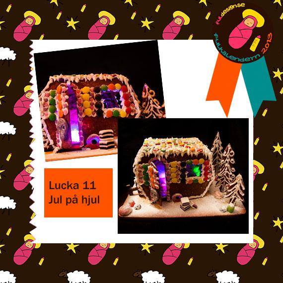Lucka 11 Jul på Hjul