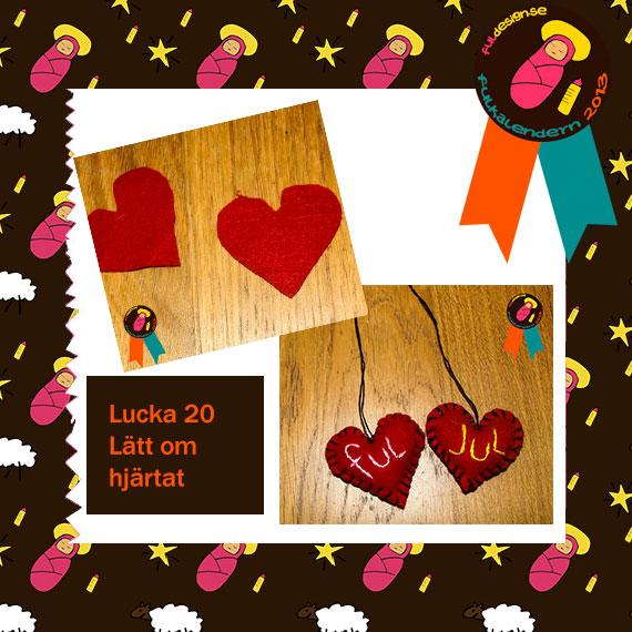 Lucka 21 Lätt om hjärtat