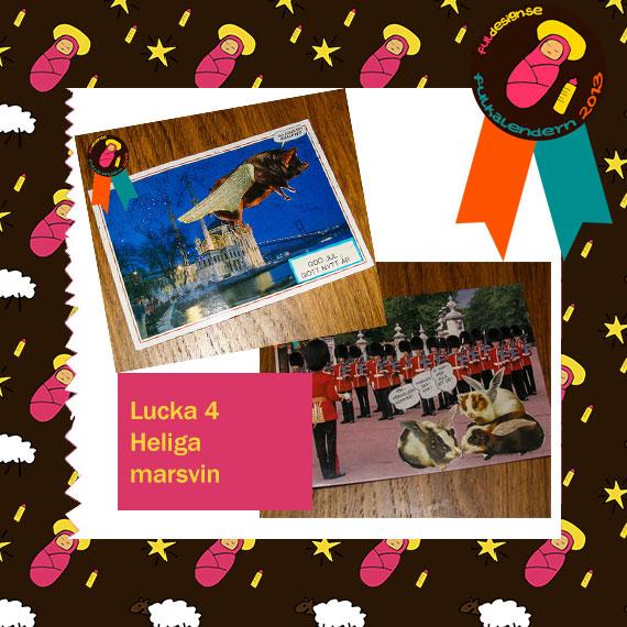 Lucka 4 Heliga marsvin