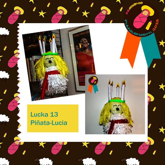 Lucka 19 Pinata Lucia