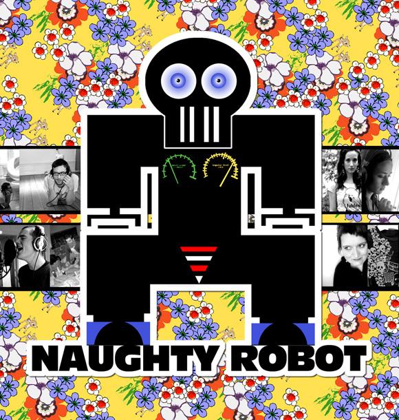 Naughty Robot skivomslag