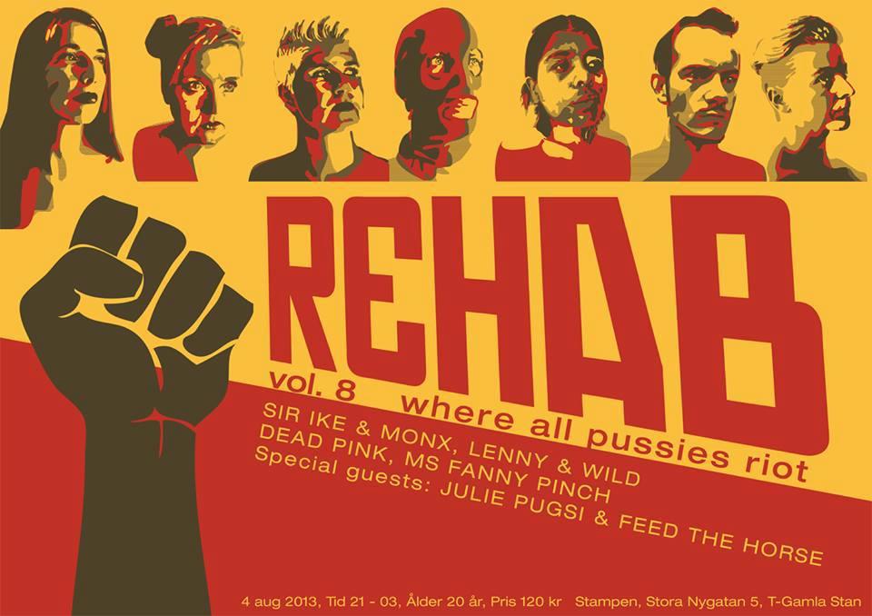 Rehab Riot 2013 affisch
