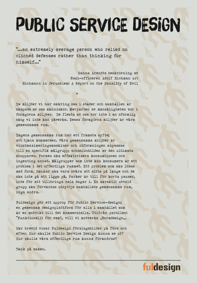 Affisch från utställningen