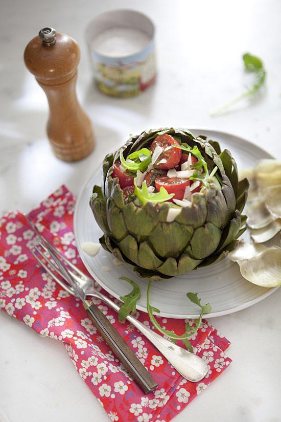 kitchencrise salade d'artichaut