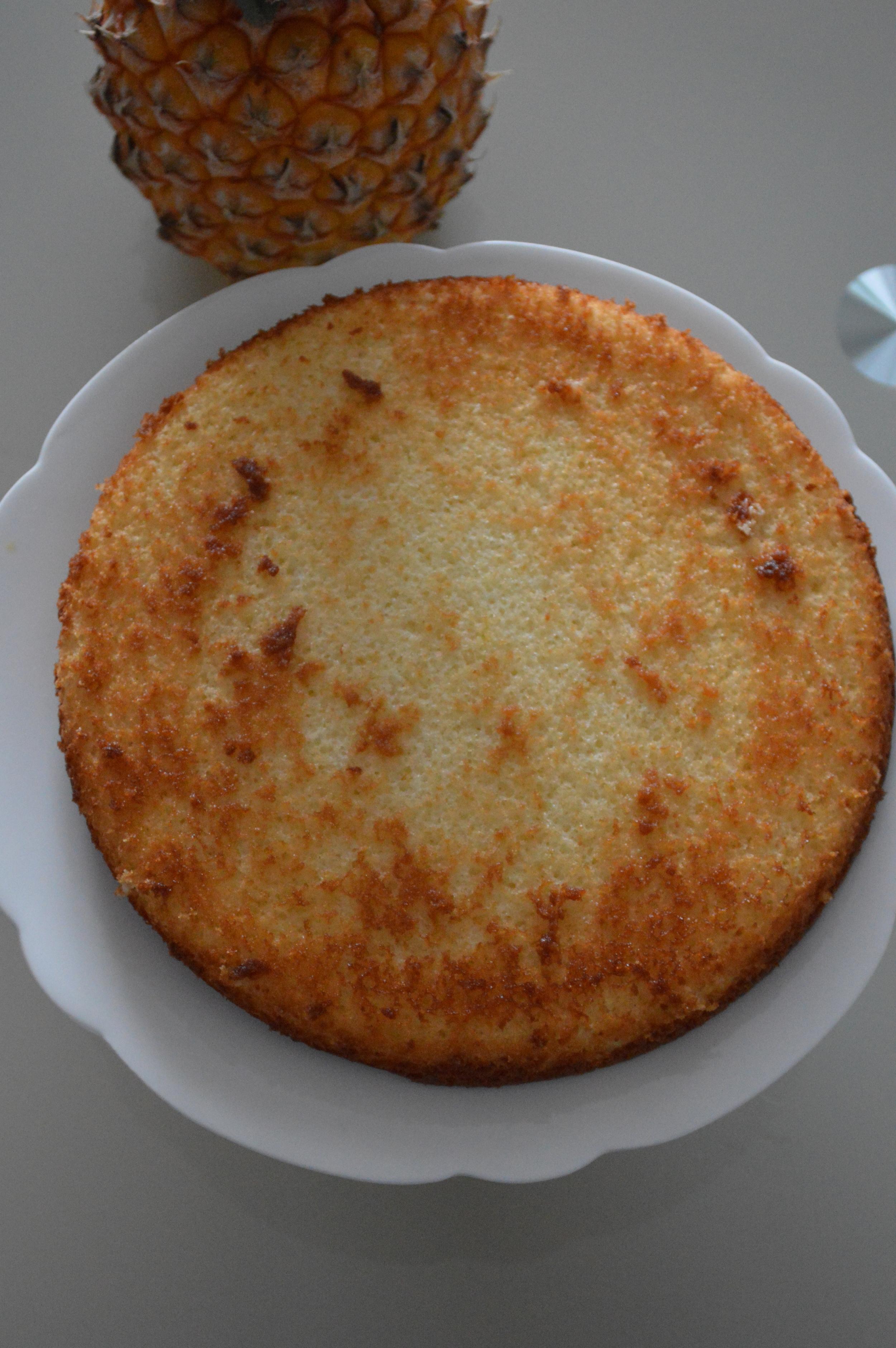 Gâteau imbibé de sirop