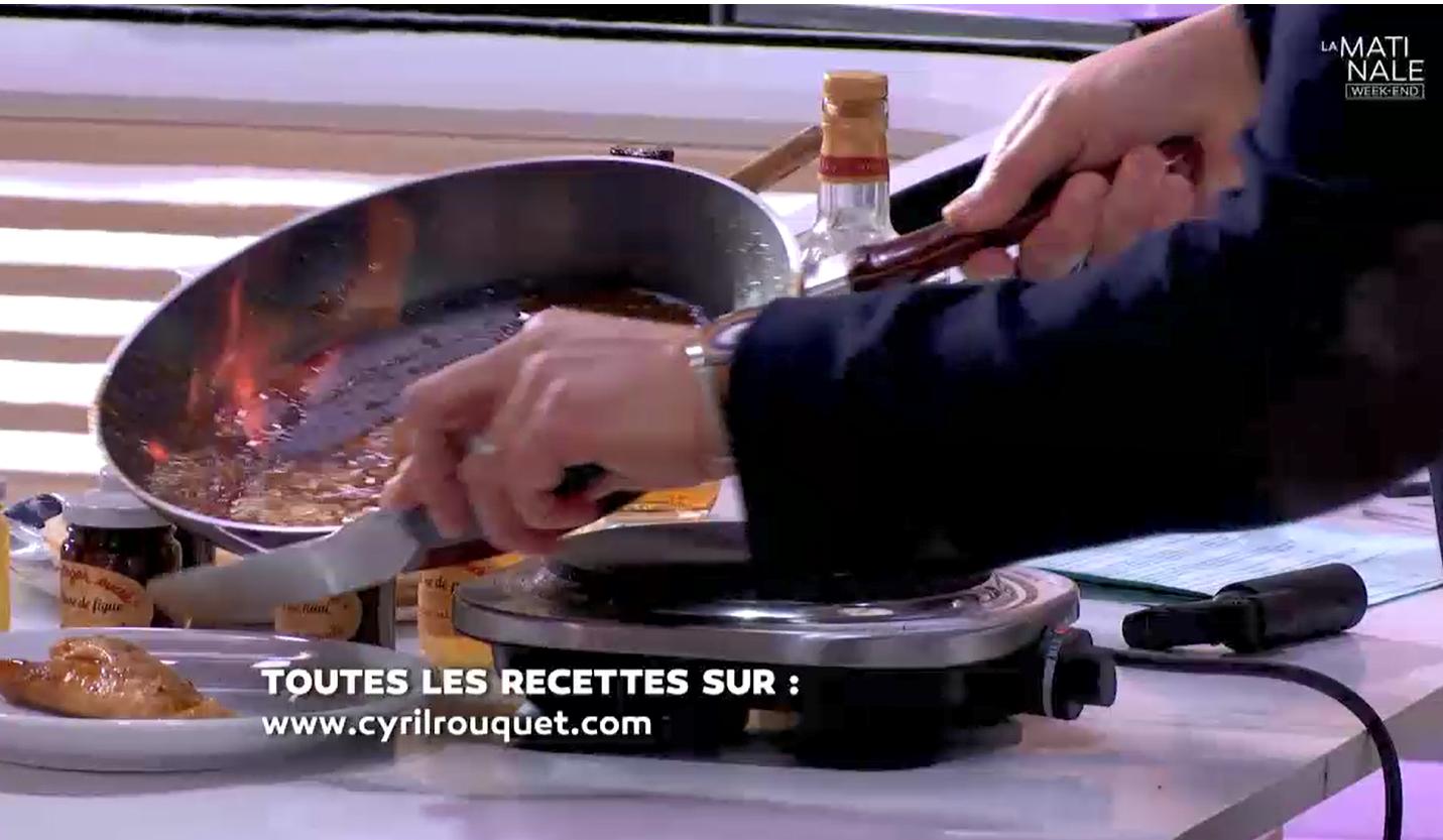 crêpe suzette Cyril Rouquet-Prévost