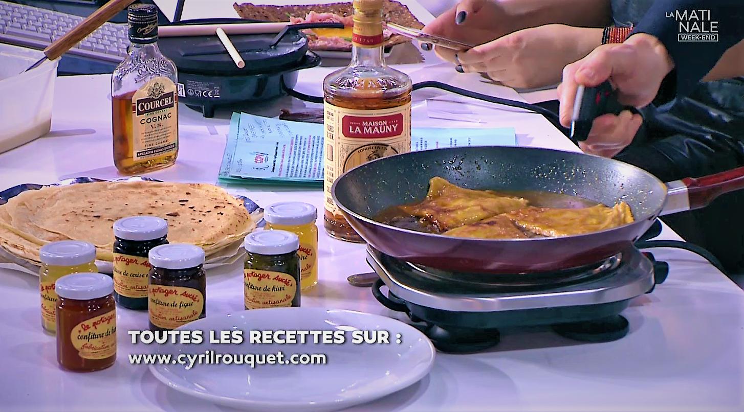 crepe suzette Cyril Rouquet-Prévost