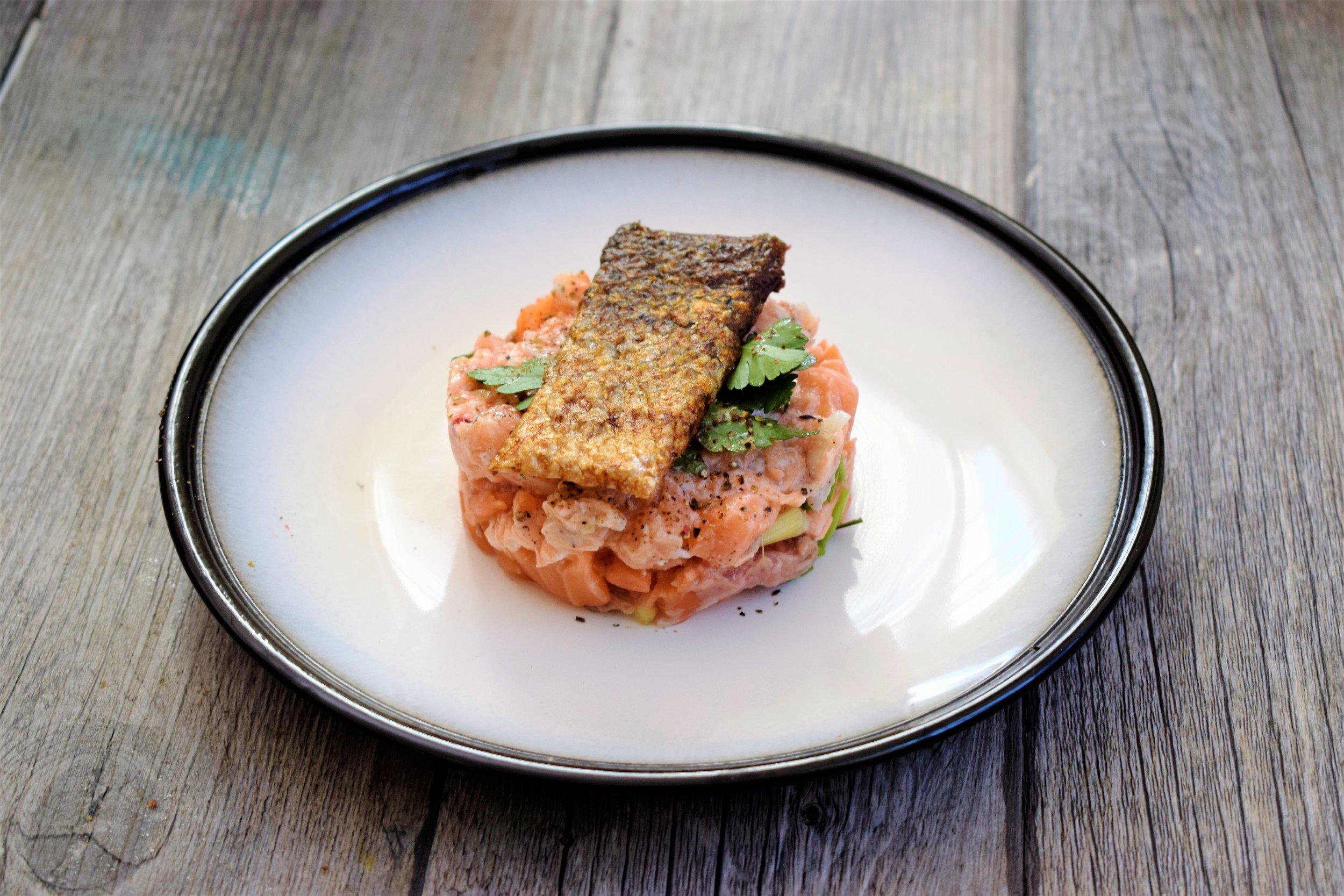 Peau de saumon Cyril Rouquet-Prévost