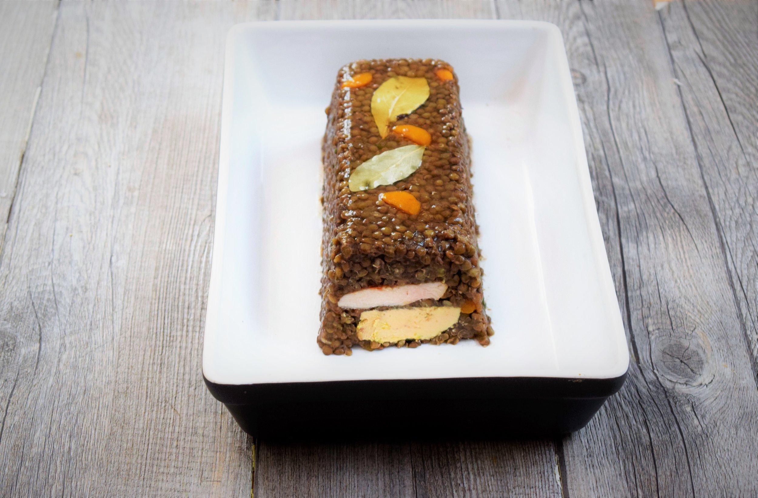terrine foie gras cyril rouquet-prévost LCI
