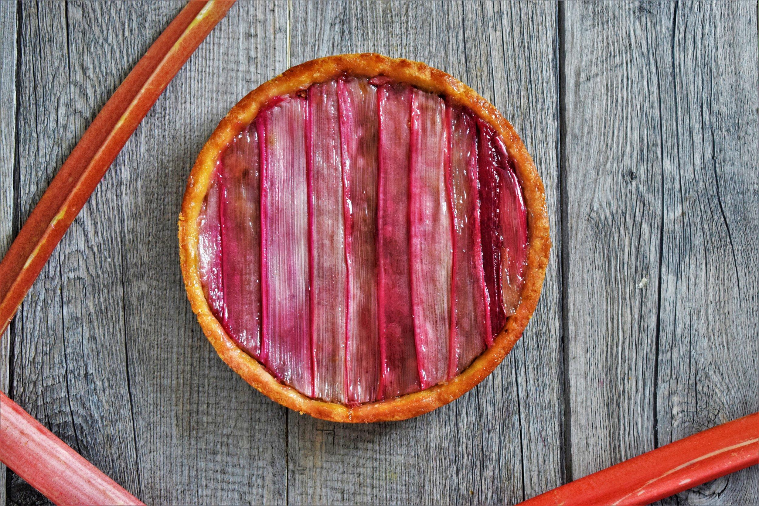 tarte à la rhubarbe Cyril Rouquet LCI