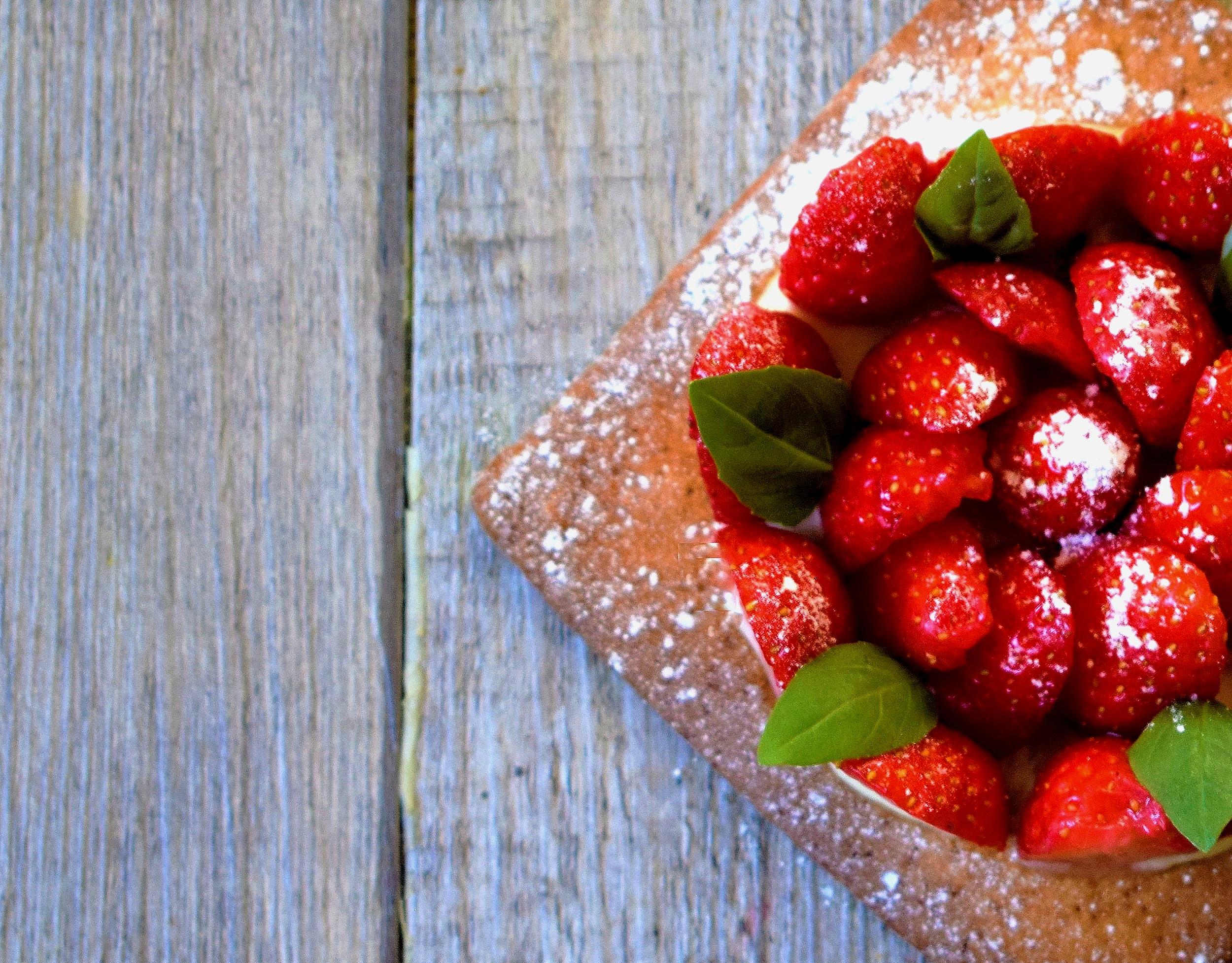 tarte fraise Cyril Rouquet-Prévost