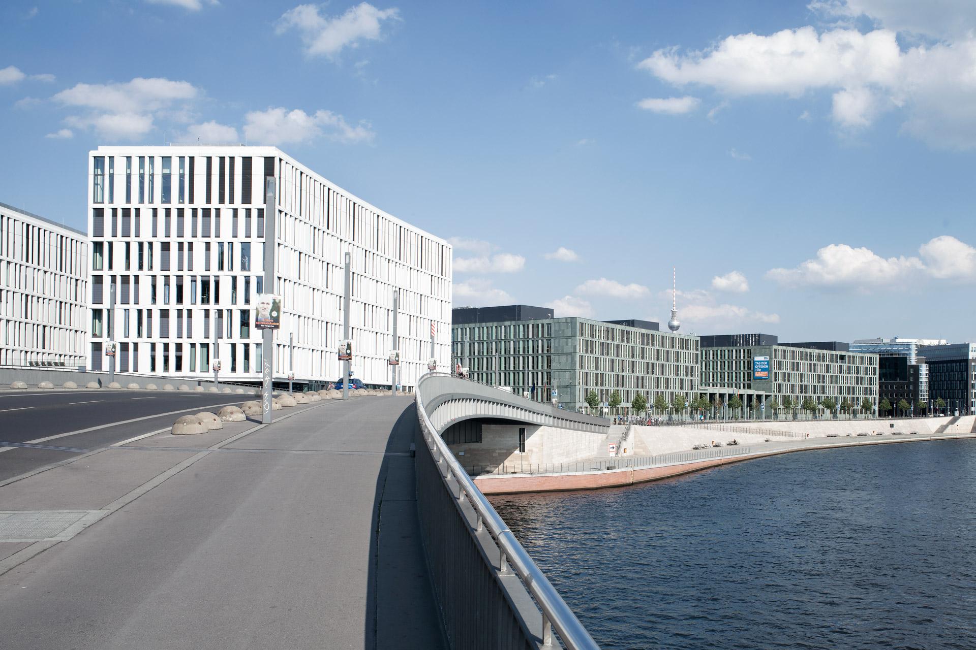 Spree Riverfront buildings, Berlin (DE)