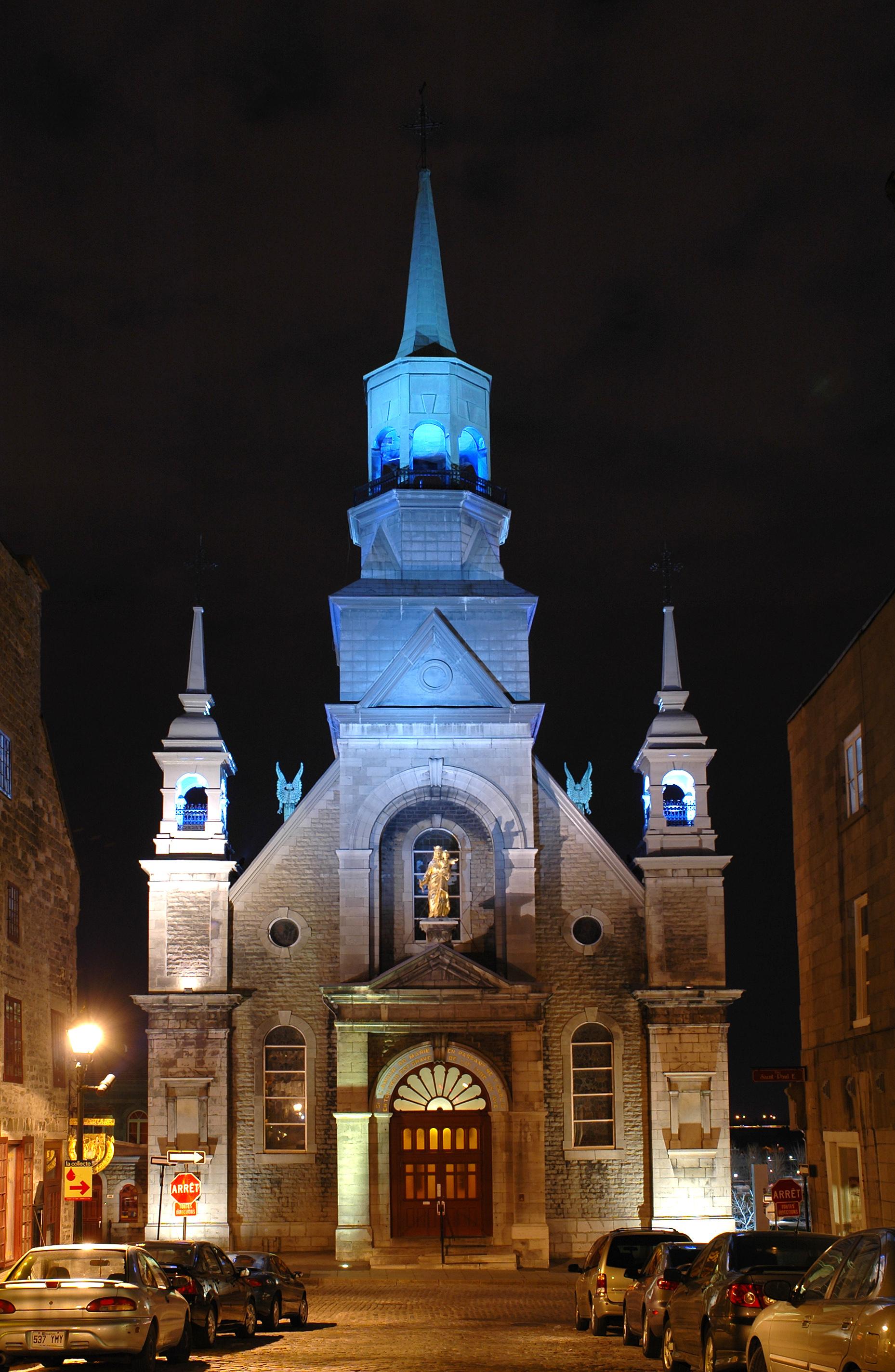 ....La chapelle Notre-Dame-de-Bon-Secours..Notre-Dame-de-Bon-Secours Chapel....
