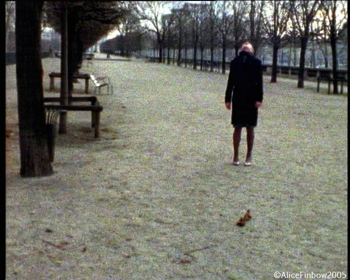 Still taken from  Paris (spinning) , 2006