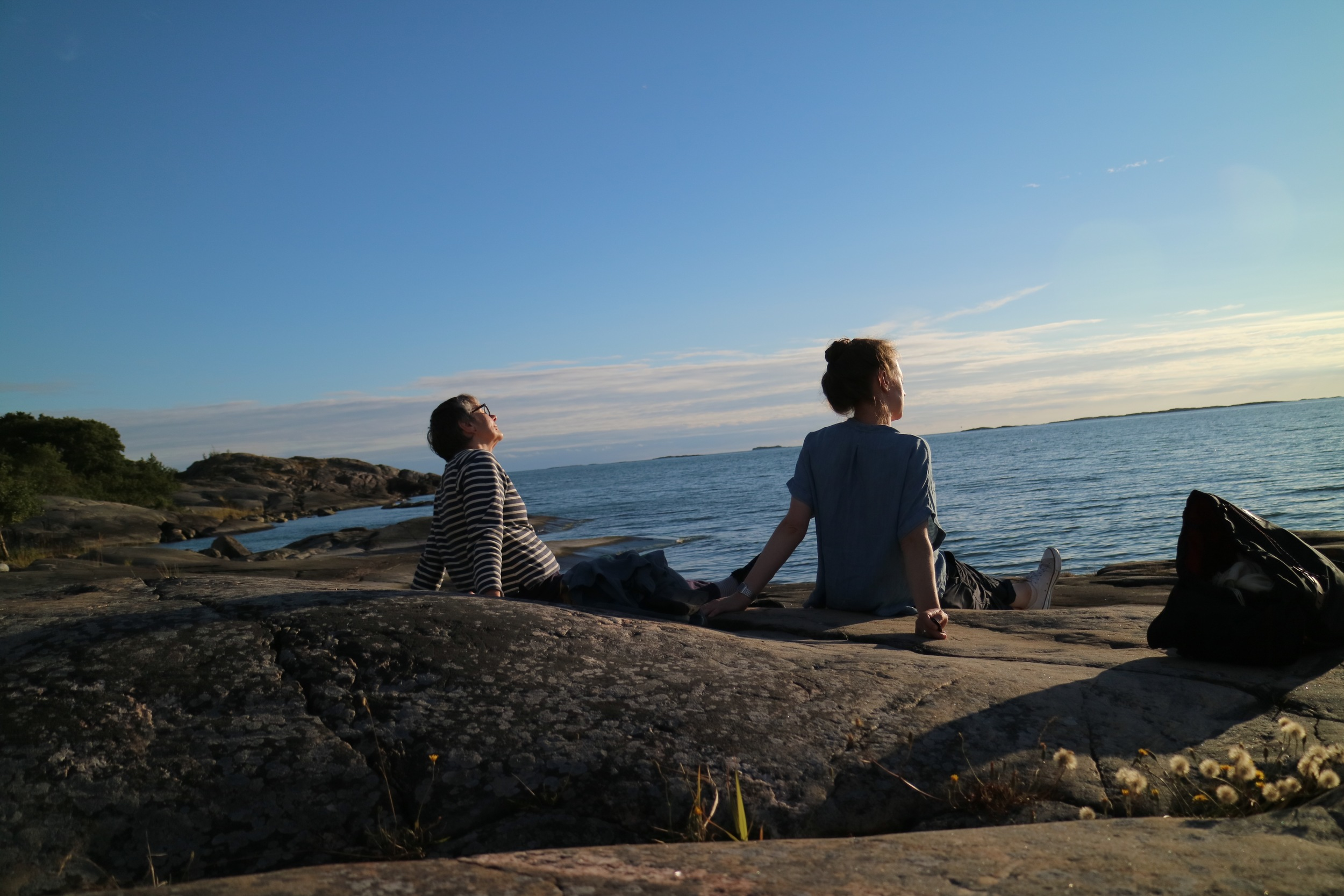Alice & Jeni - Sunning themselves.jpg