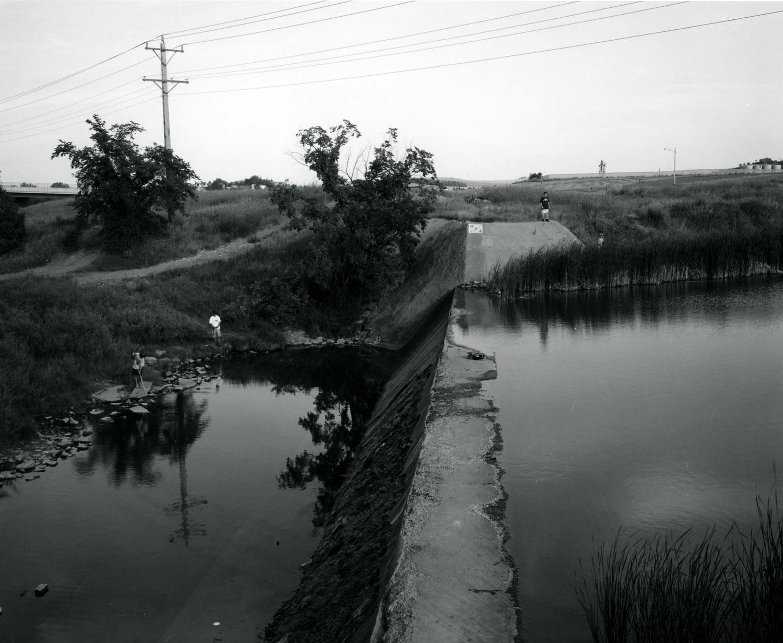 WPA Dam, Heart River, Dickinson