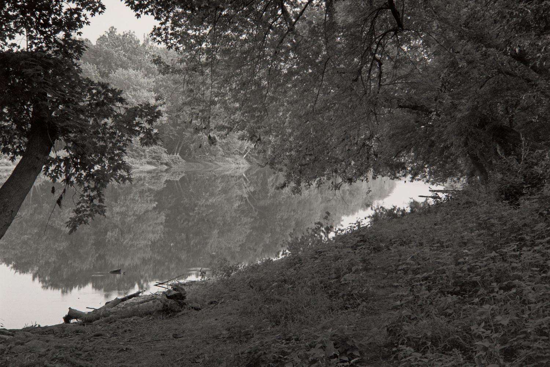 Potomac River at Ball's Bluff Battlefield, Virginia