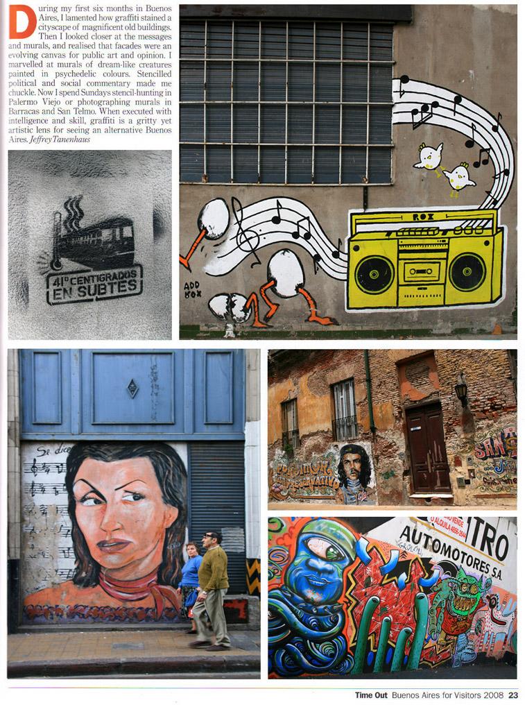 Paredes pintados de Buenos Aires