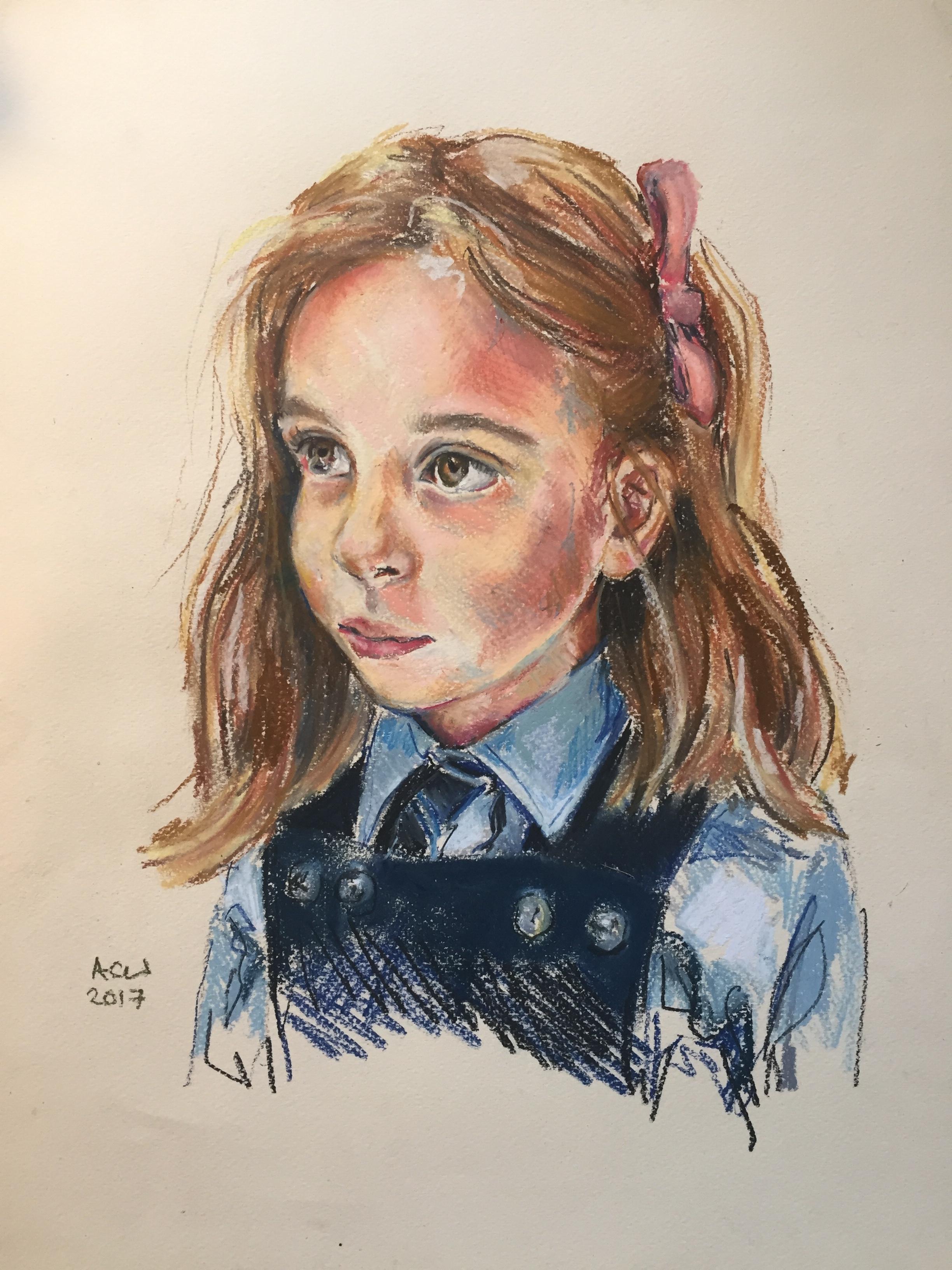 Clementine aged 7 pastel.jpg