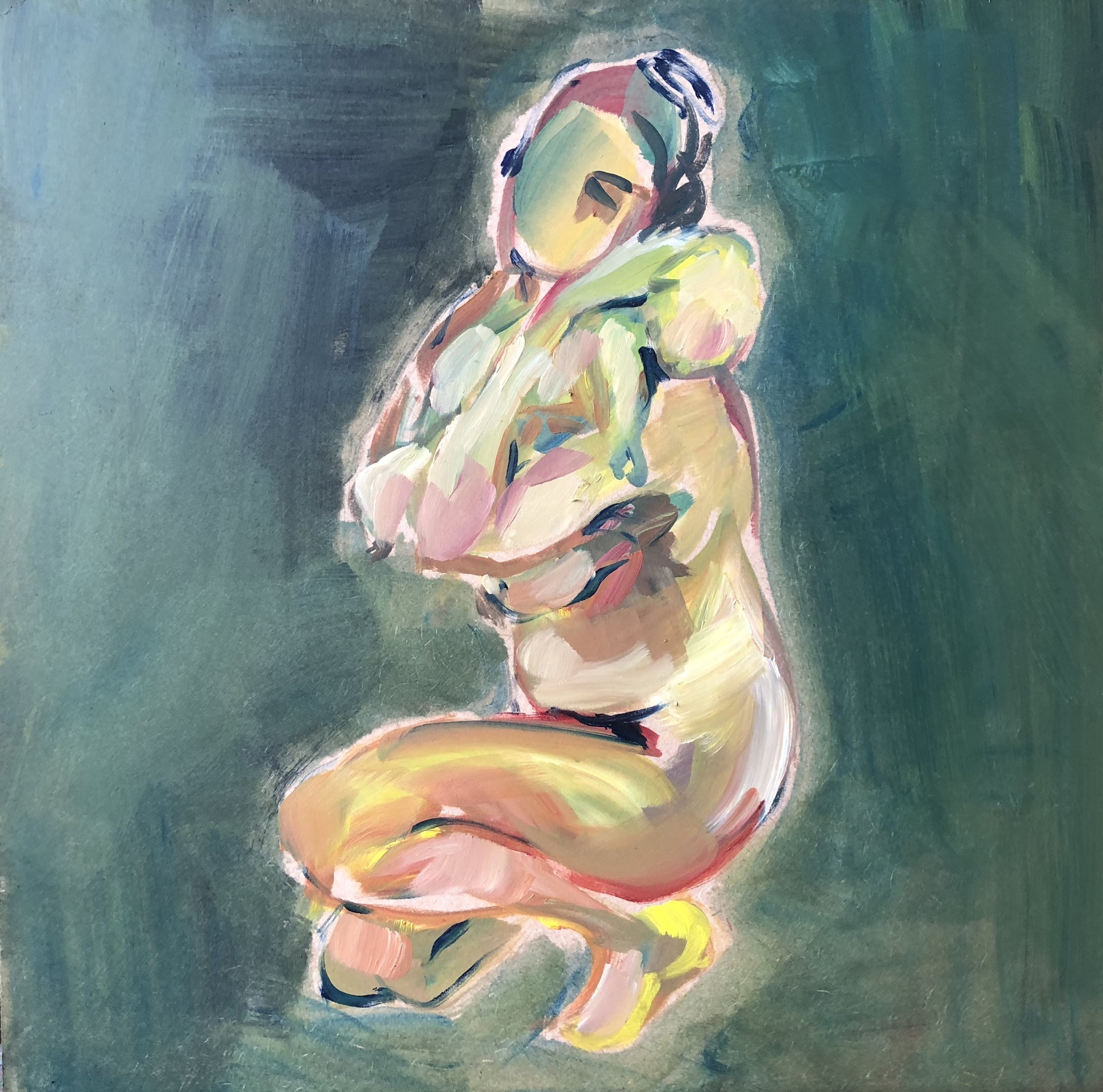 Mother and child - crouching with newborn.jpg