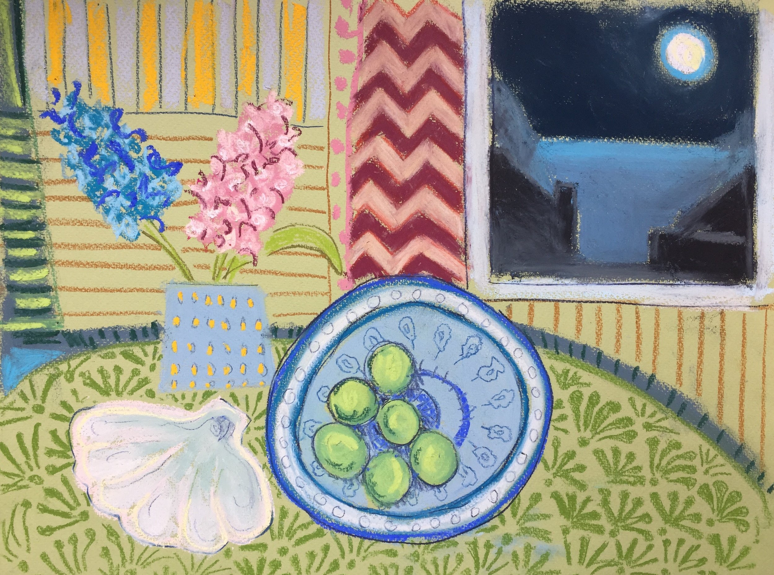 Hyacinths and Greengages